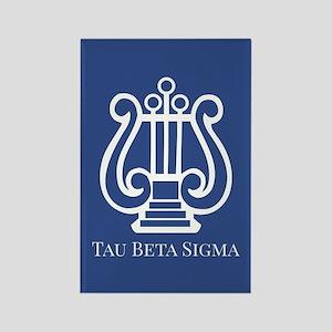 Tau Beta Sigma Logo Rectangle Magnet