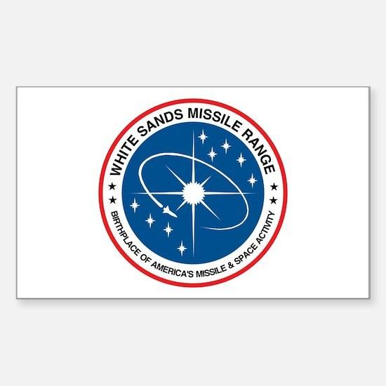 White Sands Missile Range Sticker (rectangle)