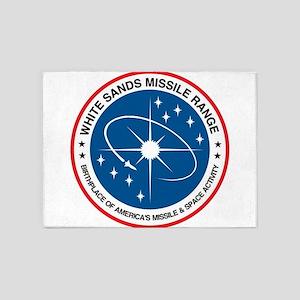 White Sands Missile Range 5'x7'Area Rug