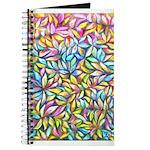 Pastel Leaves 1 Journal