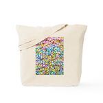 Pastel Leaves 1 Tote Bag