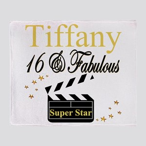 FABULOUS 16TH Throw Blanket