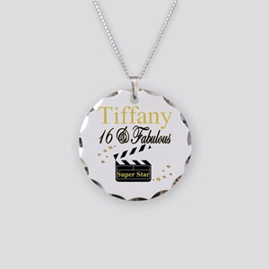 FABULOUS 16TH Necklace Circle Charm