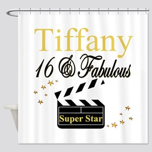 FABULOUS 16TH Shower Curtain