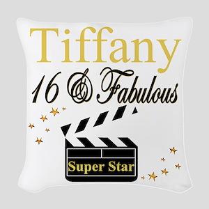 FABULOUS 16TH Woven Throw Pillow
