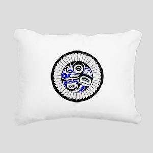 SACRED Rectangular Canvas Pillow