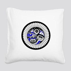 SACRED Square Canvas Pillow