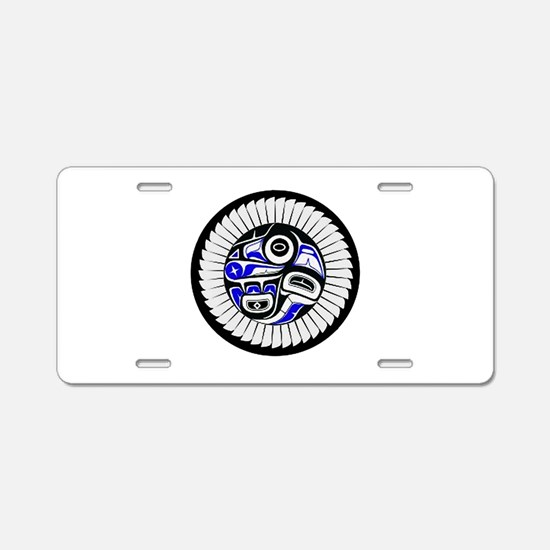 SACRED Aluminum License Plate