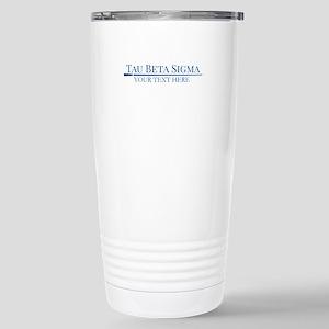 Tau Beta Sigma Personal Stainless Steel Travel Mug