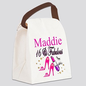 FABULOUS 16TH Canvas Lunch Bag