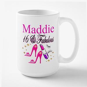 FABULOUS 16TH Large Mug
