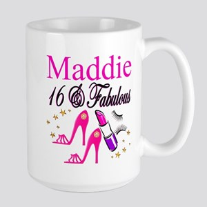 FABULOUS 16TH Large Mug