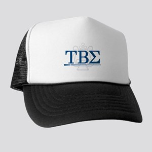 Tau Beta Sigma Greek Letters Trucker Hat