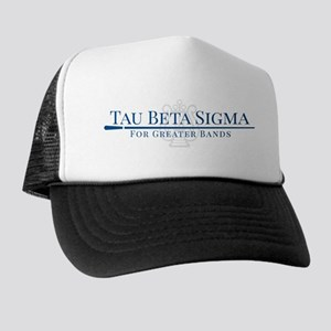 Tau Beta Sigma For Greater Bands Trucker Hat