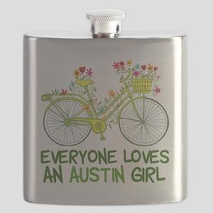 Austin Girl Flask
