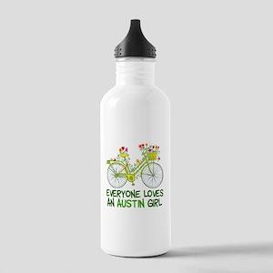 Austin Girl Stainless Water Bottle 1.0L