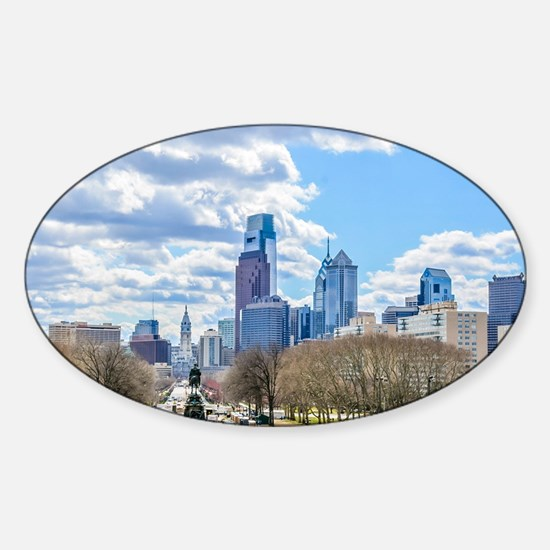 Cute South philadelphia Sticker (Oval)