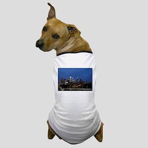 Philadelphia cityscape skyline view Dog T-Shirt