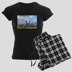 Philadelphia cityscape skyline view Pajamas