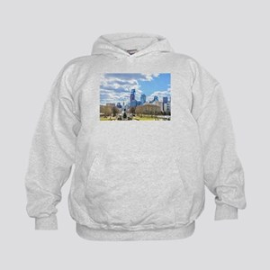 Philadelphia cityscape skyline view Sweatshirt