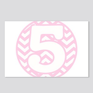 5th Birthday Postcards (Package of 8)