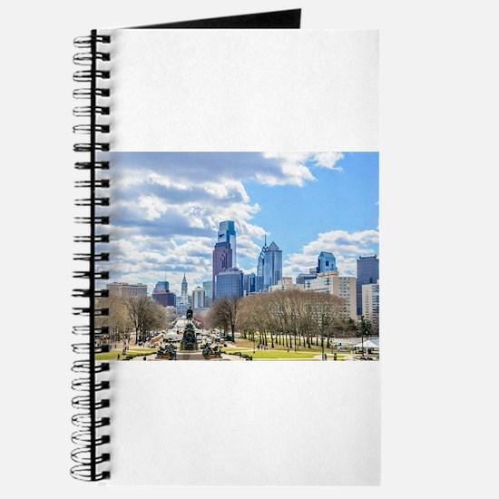 Philadelphia cityscape skyline view Journal