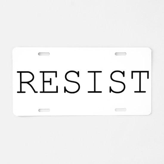 Cute Political Aluminum License Plate