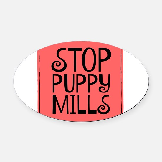 Adopt! Oval Car Magnet
