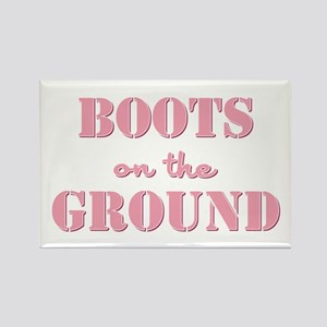 BOOTS on the GROUND Rectangle Magnet