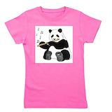 Flute Girl's Dark T-Shirt