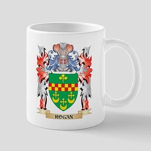 Rogan Coat of Arms - Family Crest Mugs