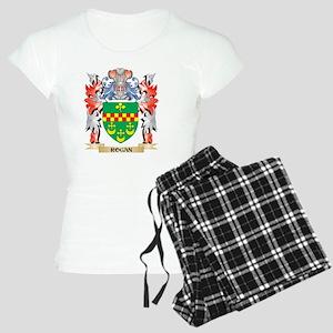Rogan Coat of Arms - Family Crest Pajamas