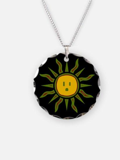 Electric Sun Necklace