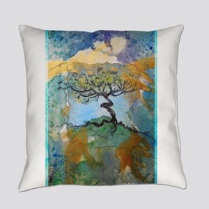 tree ! tree of life, art! Everyday Pillow