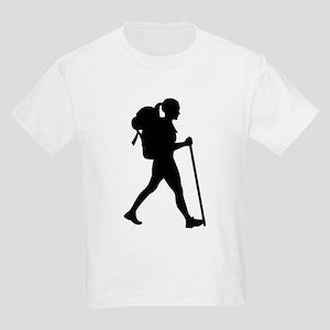 Hiking girl woman T-Shirt