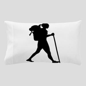 Hiking girl woman Pillow Case