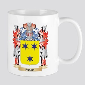 Rojo Coat of Arms - Family Crest Mugs