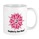 Raspberry Sun Music Logo Mug