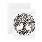 Tree of life Greeting Cards (20 Pack)