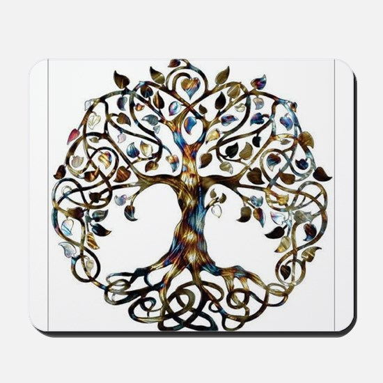 Brown_Tree_Of_Life Mousepad