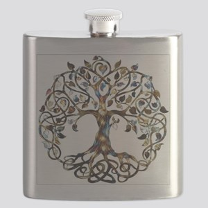 Brown_Tree_Of_Life Flask