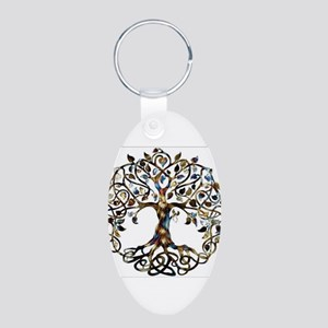 Brown_Tree_Of_Life Keychains