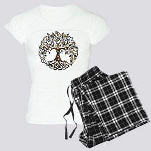 Brown_Tree_Of_Life Pajamas