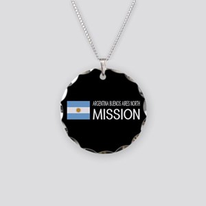 Argentina, Buenos Aires Nort Necklace Circle Charm