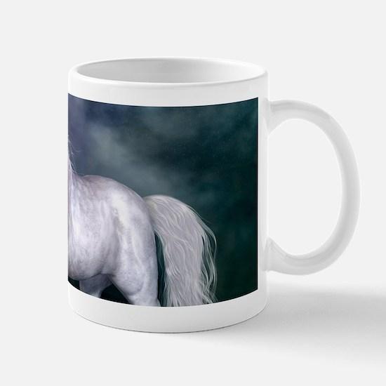 Wonderful unicorn on the beach Mugs