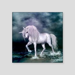 Wonderful unicorn on the beach Sticker