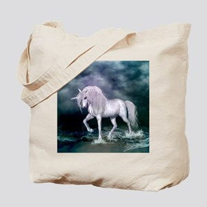 Wonderful unicorn on the beach Tote Bag