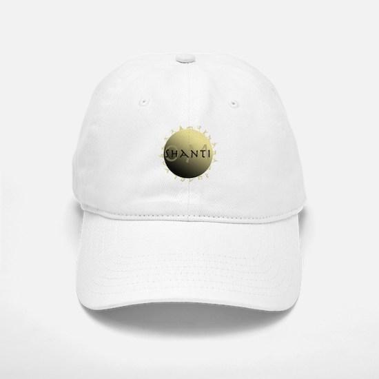 Om Shanti Baseball Baseball Cap