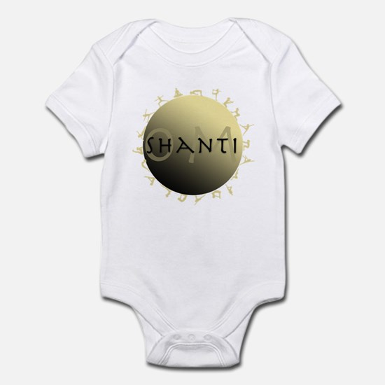 Om Shanti Infant Bodysuit