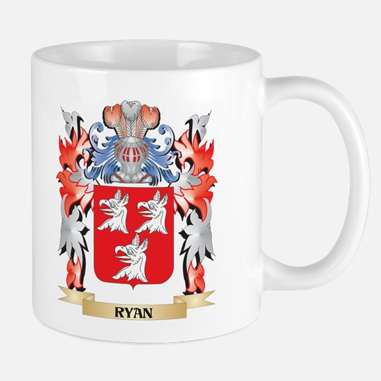 Ryan Coat of Arms - Family Crest Mugs